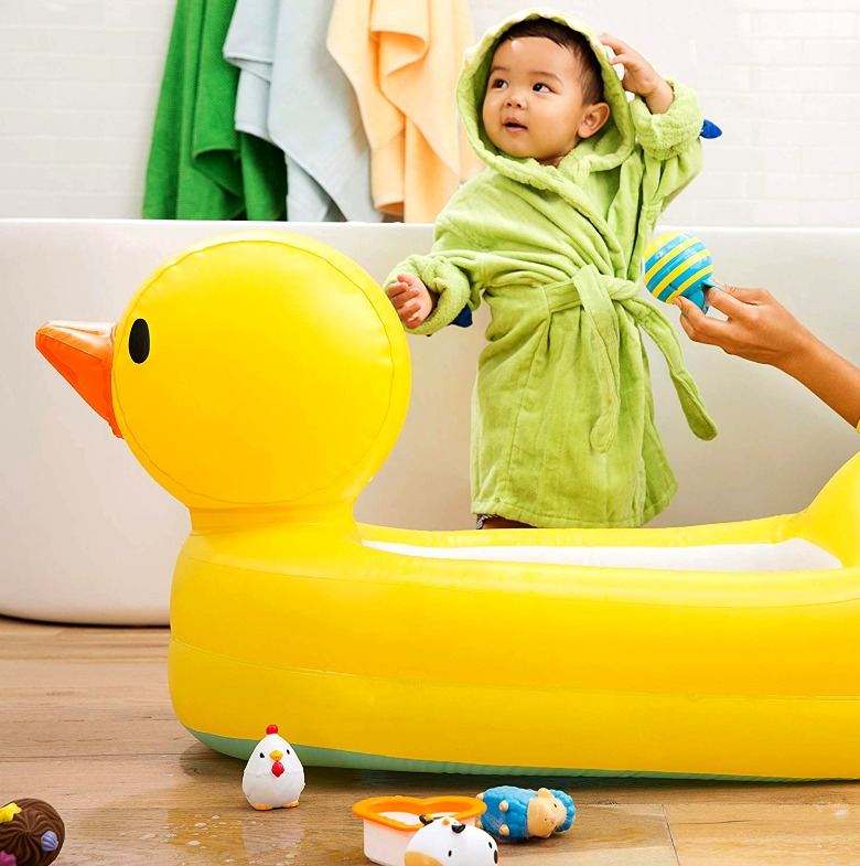 Las mejores bañeras hinchables para bebés