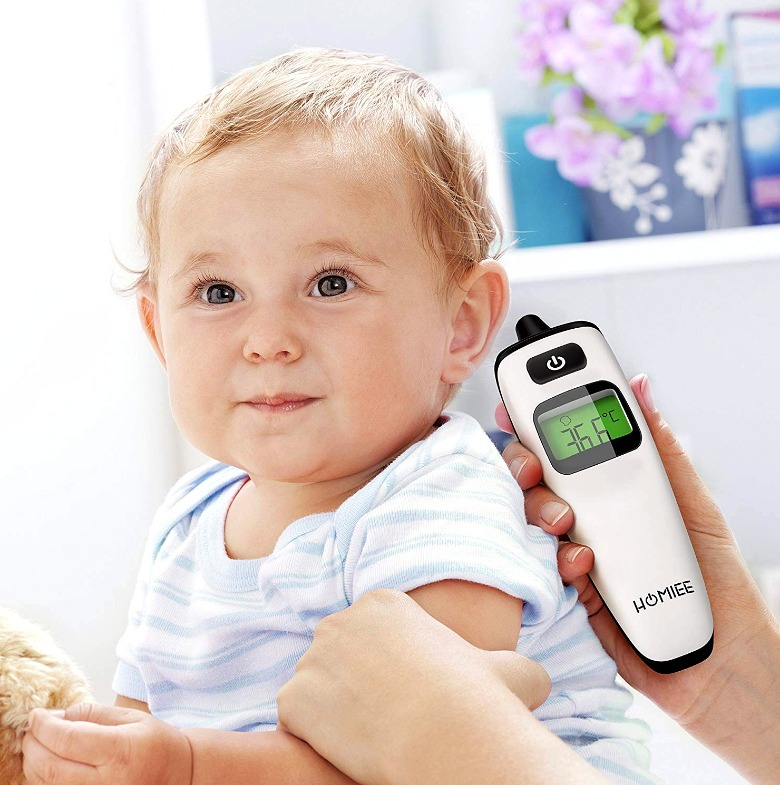 Los mejores termómetros infrarrojos para bebés